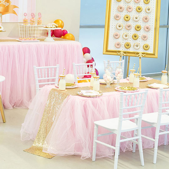 Tutu Table Cover Enchanted Party Hire
